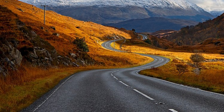 Best Places to Drive in the UK