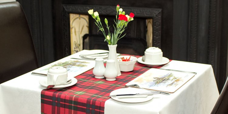 Table at B&B Guest house