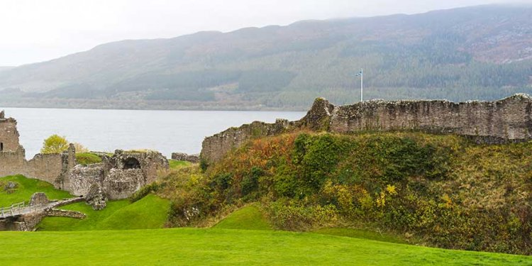 At Loch Ness, Scotland, UK