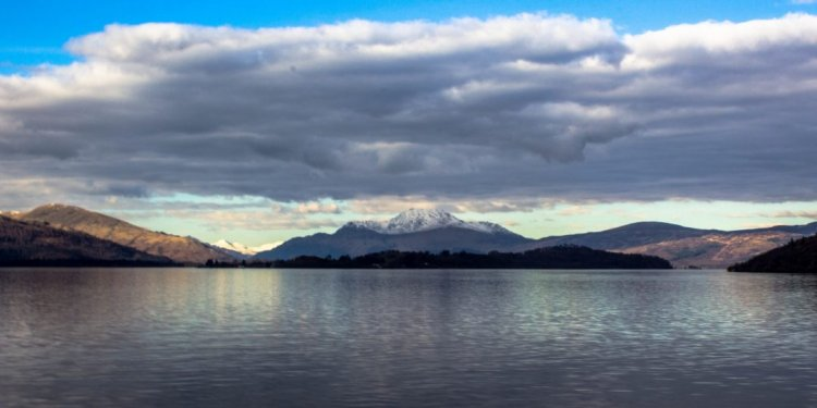 Ben Lomond from Loch Lomond
