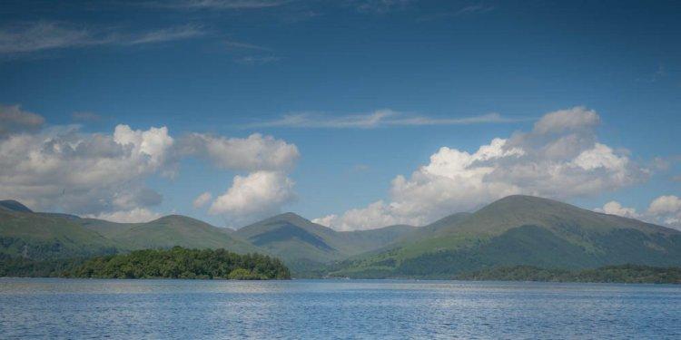 Loch Lomond Scenic Canvas