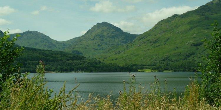 Loch Lomond, looking west from
