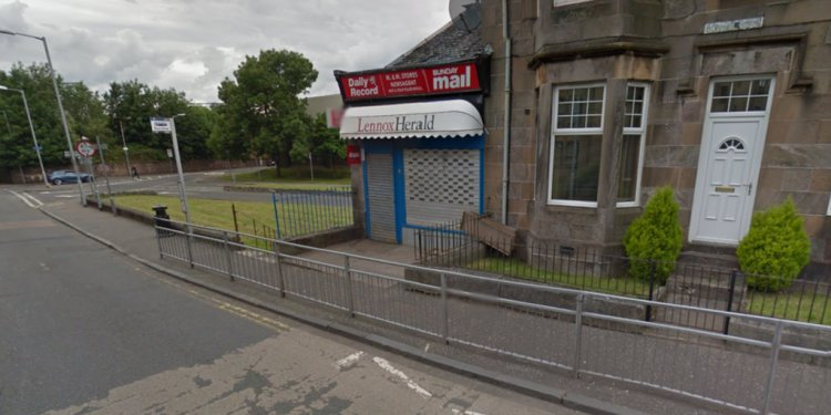 Armed robbery at Dumbarton