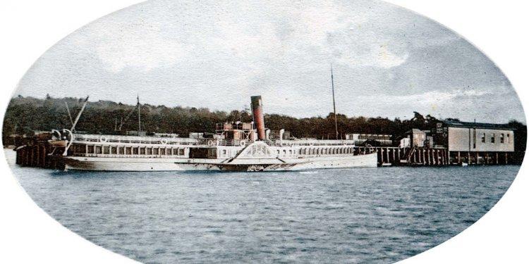 The Loch Lomond Steamers