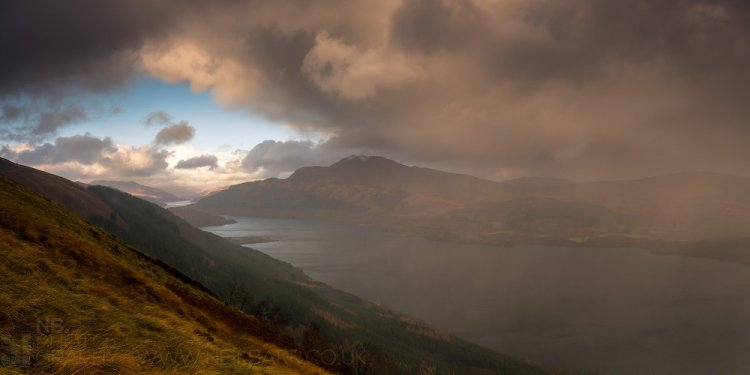 Weather landscape scotland