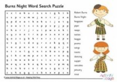 Burns Night Term Research Puzzle