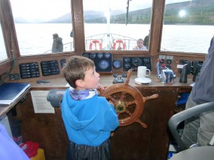 Cruising on Souters Lass