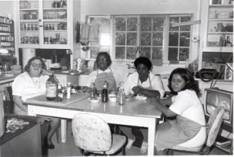 Fellows Building Kitchen and Kitchen team, 1977-78