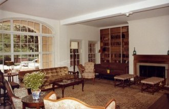 Fellows Building family area, 1981