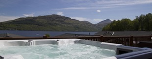 Hot Tubs at Loch Lomond