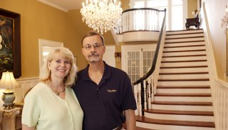 Patti and Bernie Pizinger, Trinkle Mansion Bed & Breakfast