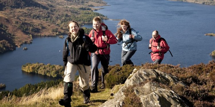 Walking Loch Lomond